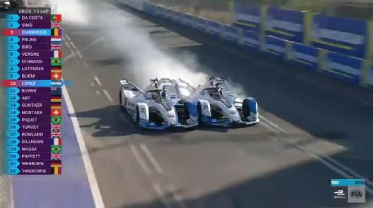 Así tiró por la borda BMW un doblete en la Fórmula E