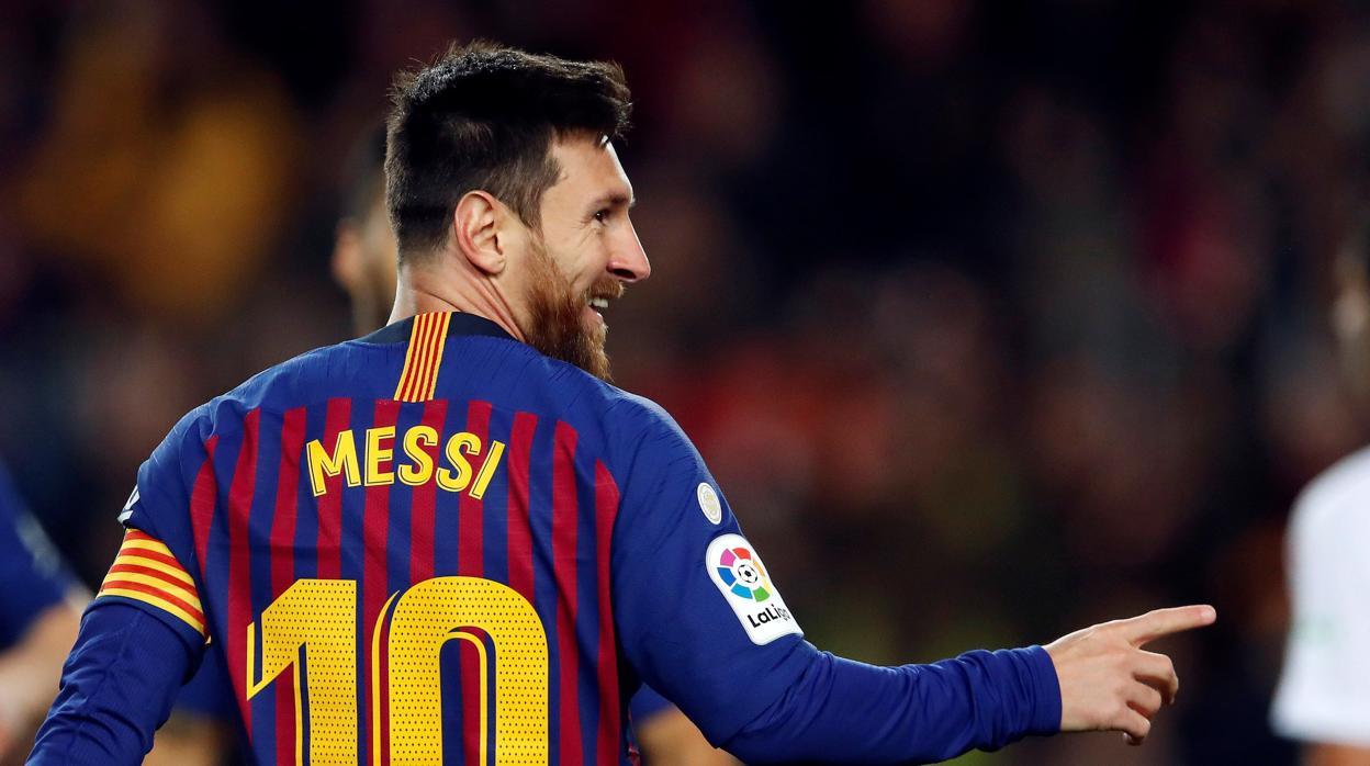Messi alcanza los 400 goles en Liga