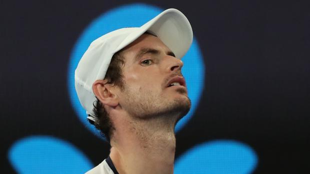 Andy Murray, durante su partido ante Bautista en Australia