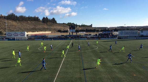 Chumi no evita la derrota del Barcelona B ante la SD Ejea