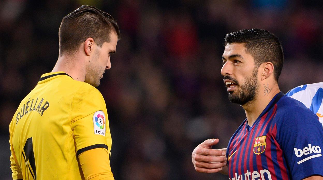 Así fue el polémico gol de Suárez que enfadó al Leganés