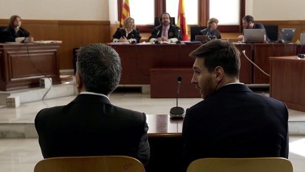 Messi, ante la Justicia
