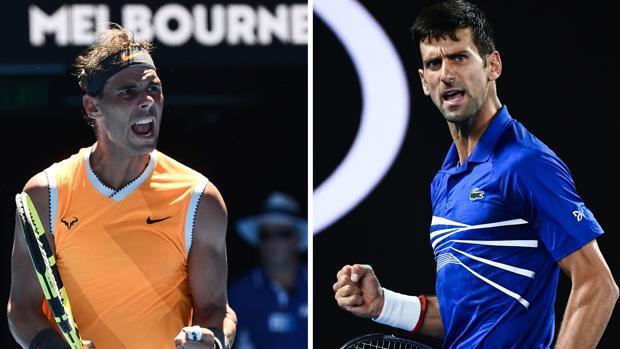 Nadal y Djokovic se disputan el título de Australia
