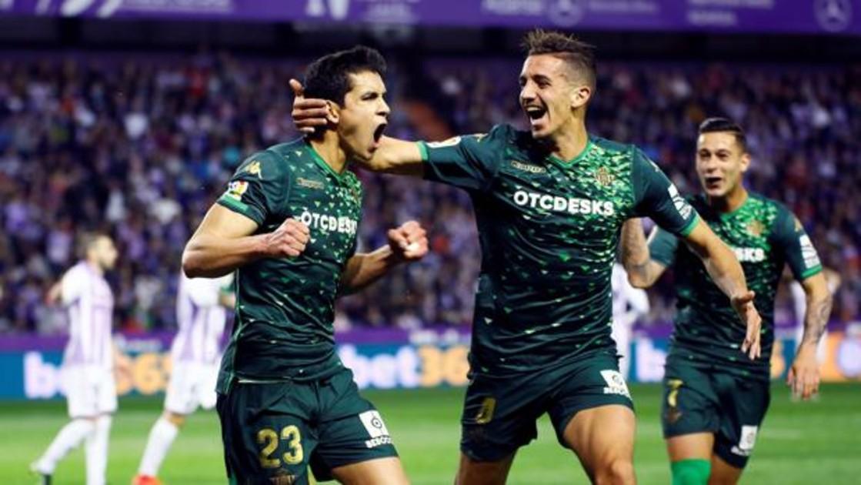 Resultado Valladolid - Betis  El Betis se lleva los tres puntos de Zorrilla  en un deslucido partido cdcd5adee0a79