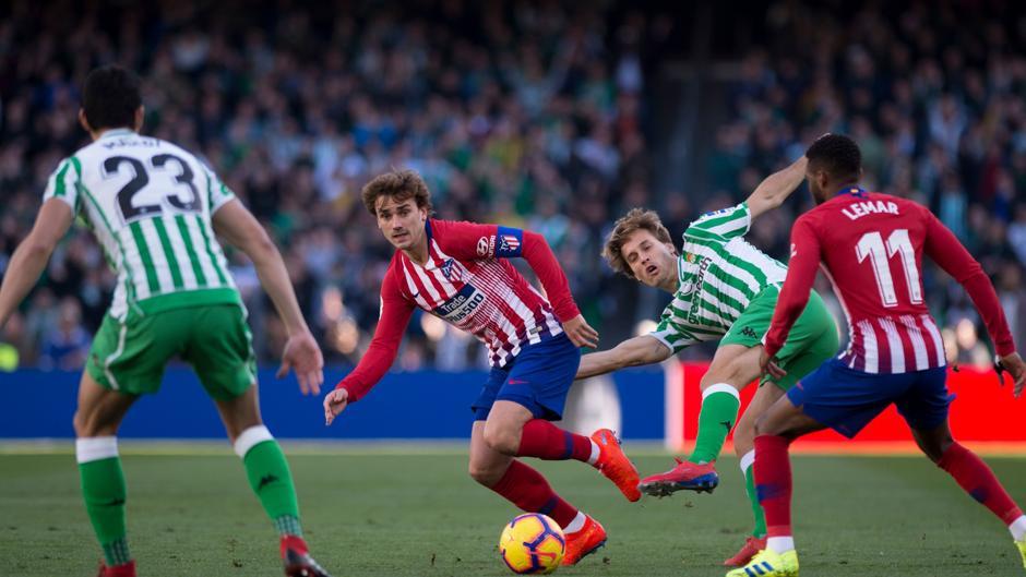 LaLiga Santander (J22): Resumen y gol del Betis 1-0 Atlético de Madrid