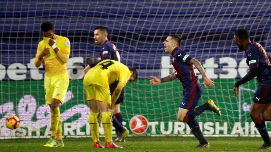 LaLiga Santander (J22): Resumen y goles del Eibar 3-0 Girona