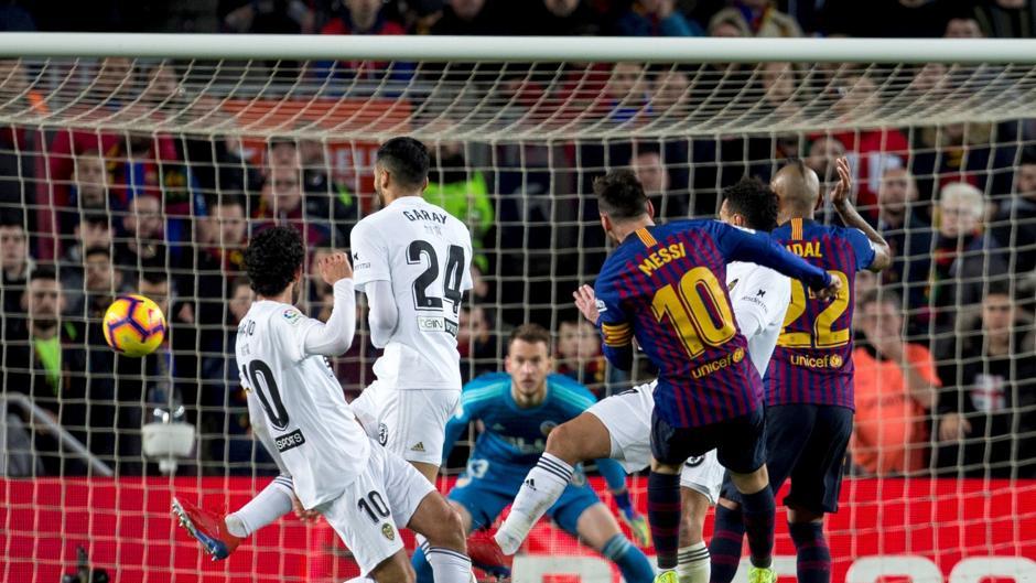 Liga Santander (J22): Resumen y goles en el Barcelona 2-2 Valencia