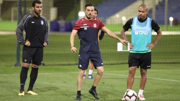 El gallego Rubén de la Barrera, entrenador del Al Ahli qatarí