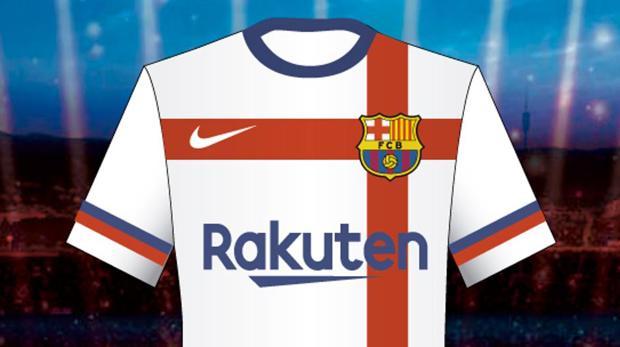 253baaab46a21 El Barça veta una camiseta blanca para su segunda equipación