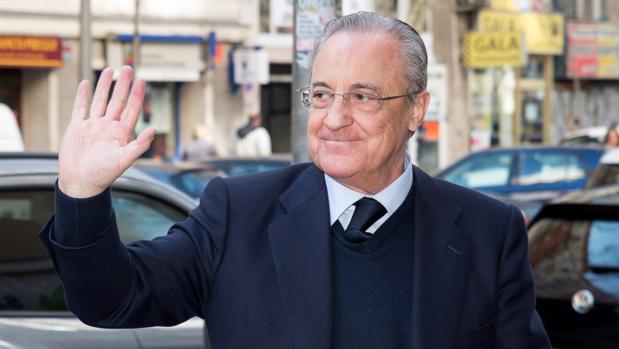 Florentino Pérez: «El Madrid no necesita un '9'»