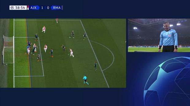 El VAR de la Champions enamora al Madrid