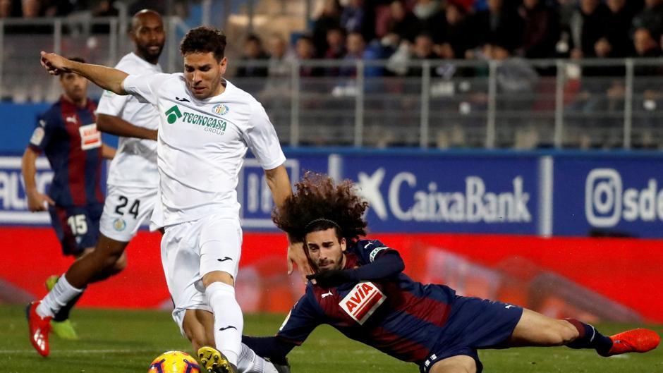 LaLiga Santander (J24): Resumen y goles del Eibar-Getafe (2-2)