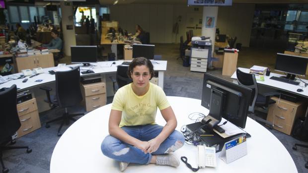 Ana Carrasco, durante una visita a ABC el pasado mes de octubre