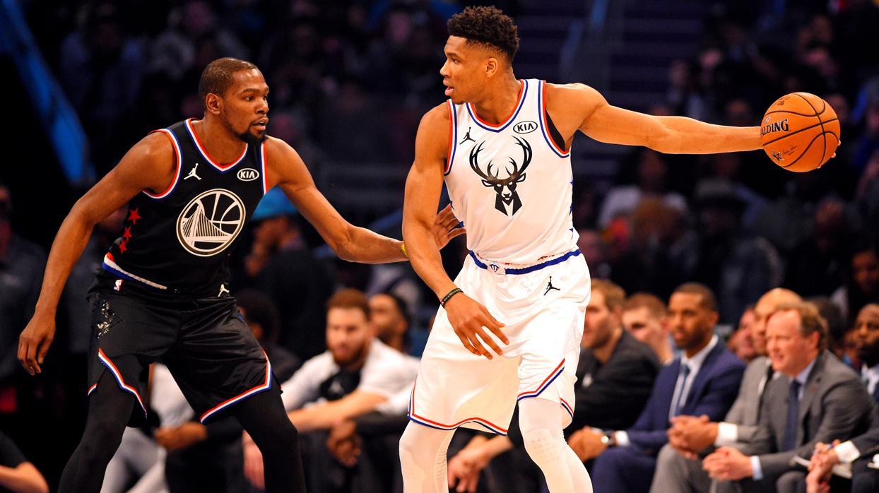 Durant lidera la remontada y el triunfo del equipo de LeBron en el All Star de la NBA