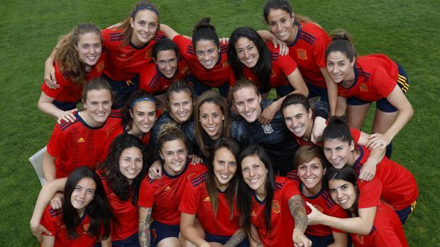 a8b19f9c5e987 Fútbol femeninoLa equipación de la selección española para el Mundial de  Francia