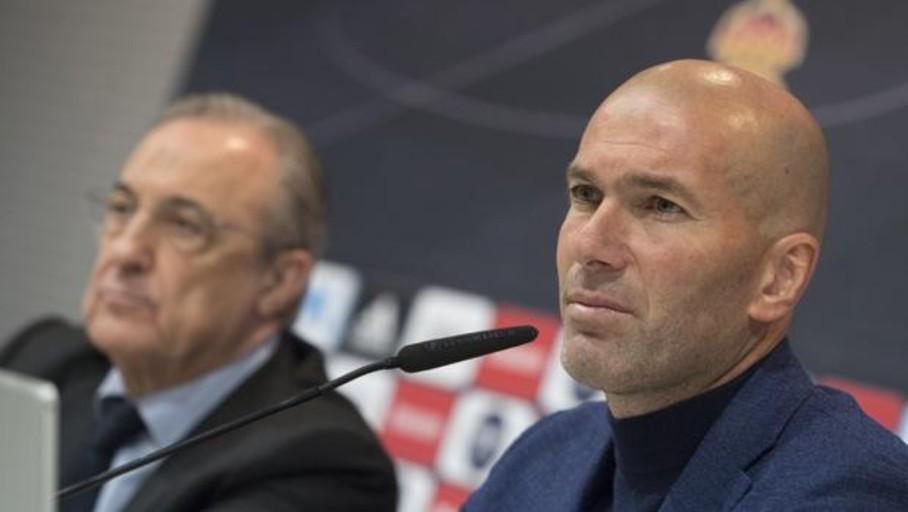 Zinedine Zidane regresa al Real Madrid 284 días después