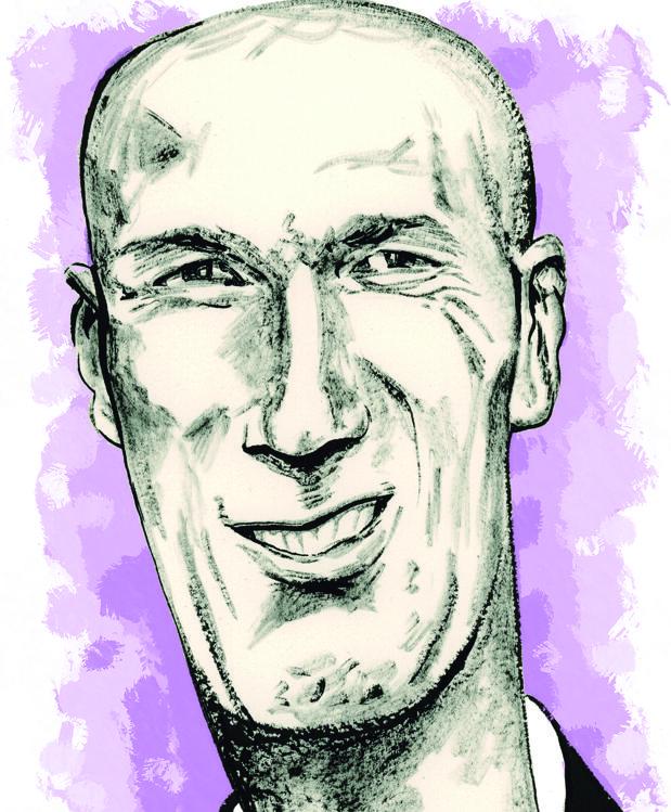 Zinedine Zidane: Las dos caras del hombre tranquilo