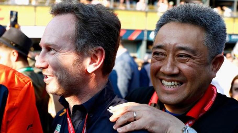 El jefe de Honda lloró por el éxito con Red Bull
