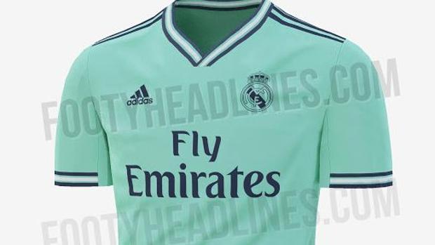 6d7c8f097f86d El impactante nuevo color para la tercera camiseta del Real Madrid