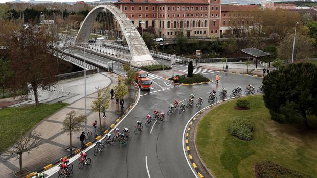 La segunda etapa de la Vuelta al País Vasco