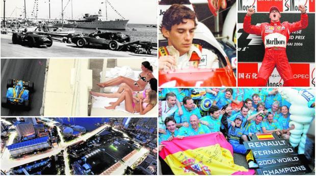 Fórmula 1, mil vidas del deporte extremo