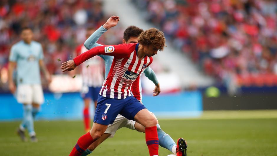 LaLiga Santander (J32): Resumen y goles del Atlético de Madrid 2-0 Celta