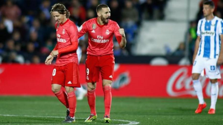 Benzema demuestra su mejor nivel en la temporada más difícil del Madrid