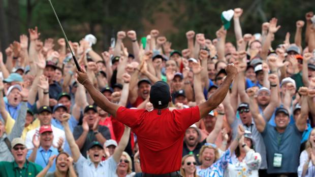 El reto del número uno no agobia a Tiger Woods