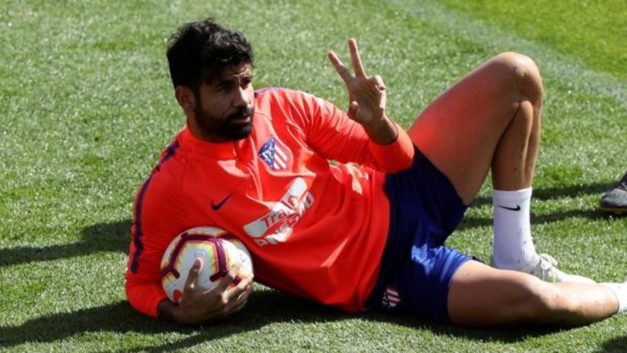 Diego Costa vuelve a entrenarse