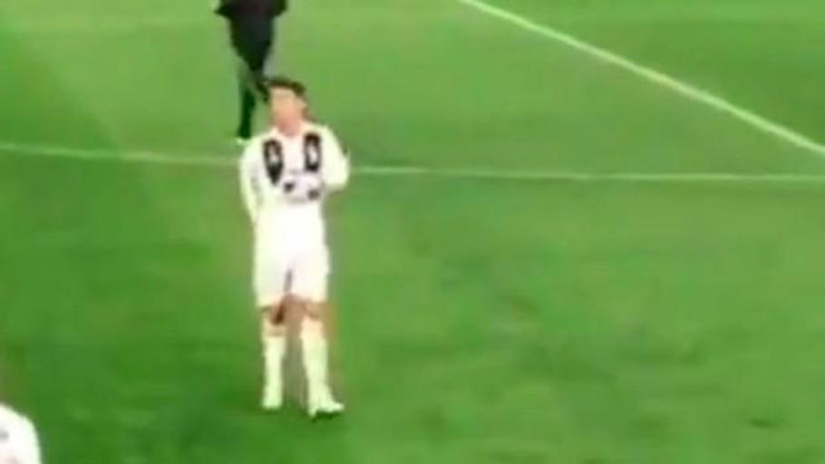 El polémico gesto de Cristiano Ronaldo tras la eliminación de la Juventus