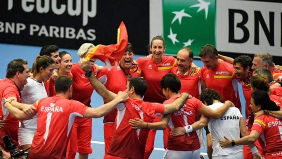España regresa al Grupo Mundial de la Copa Federación