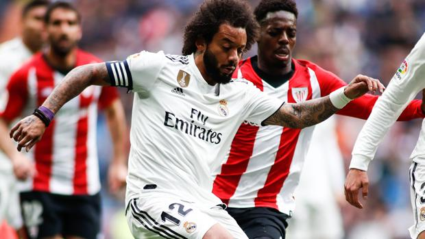 Marcelo, ante el Athletic