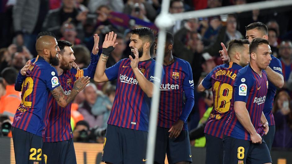 LaLiga Santander (J35): Resumen y gol del Barcelona 1-0 Levante