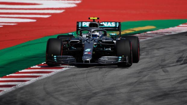 El Mercedes de Bottas