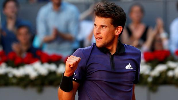 Thiem despide a Federer de Madrid