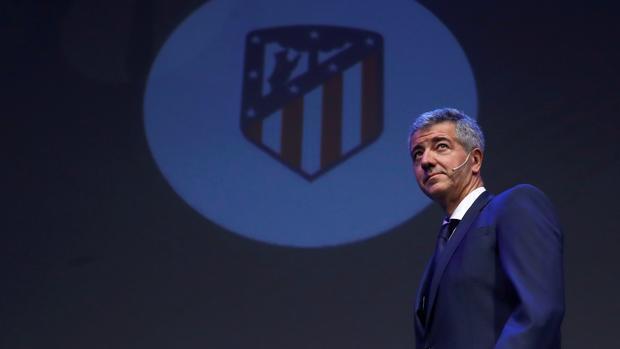 Miguel Ängel Gil Marín,, consejero delegado del Atlético