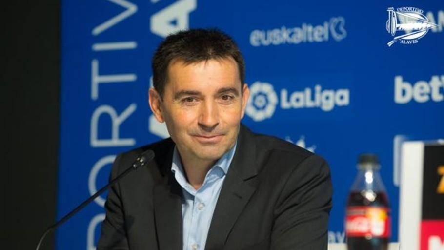 Asier Garitano ficha por el Alavés hasta 2.020