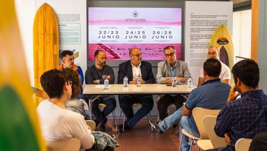 Se presentó el Campeonato de España de Surfing 2019
