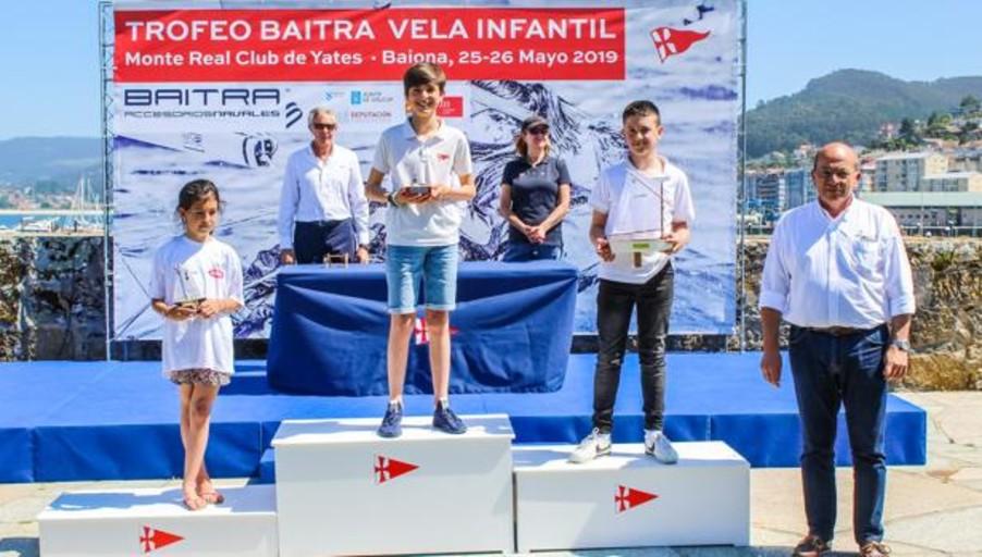 El Náutico de Vigo y el Monte Real se reparten los triunfos del Trofeo Baitra