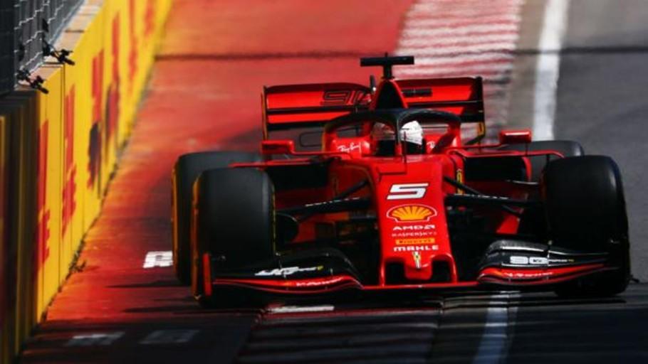 Vettel al fin sonríe