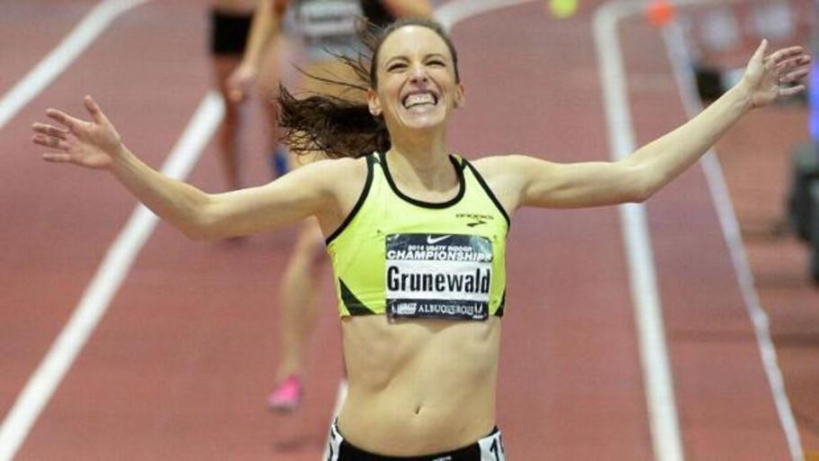 Muere «Gabe» Grunewald, la atleta que luchó contra el cáncer