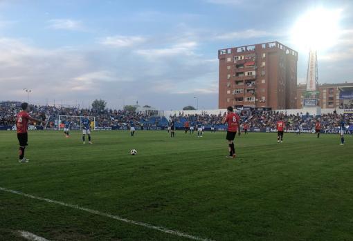 Partido en Linarejos entre el Linares Deportivo y La Nucía