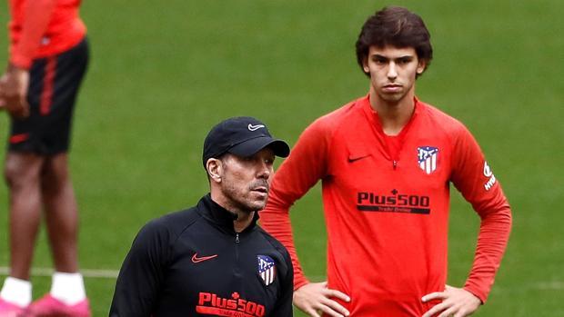 Simeone insiste en su receta para medirse al Valencia
