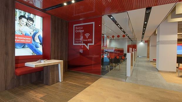el banco santander estrena su oficina del futuro para
