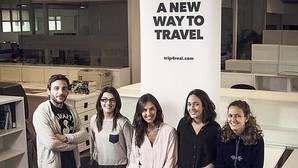 El equipo de Trip4Real, una plataforma colaborativa dedicada al turismo