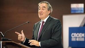 Juan Rosell, presidente de la patronal