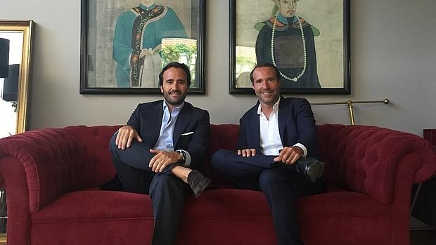 Álvaro Luna y Antonio Brusola, fundaron «Housers» el año pasado y junto con «The Crowd Estates» estudian y ofrecen diferentes proyectos para invertir