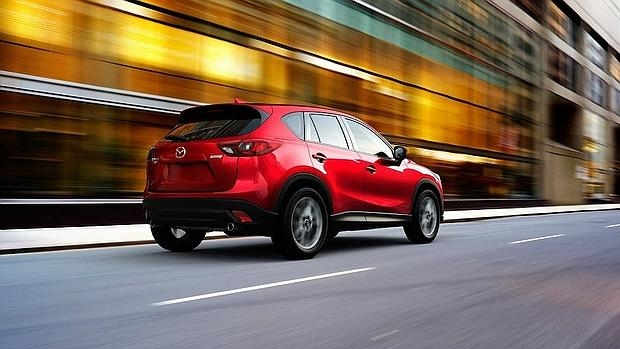 Vehículo de la marca Mazda