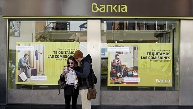 El inter s que paga bankia al devolver el dinero de su for Salida de la oficina internacional de origen