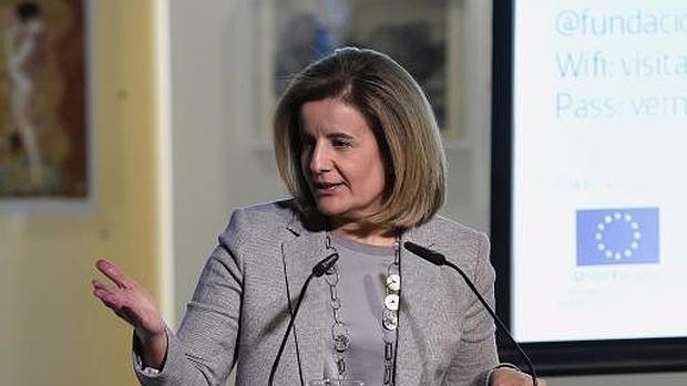 La ministra de Empleo en funciones, Fátima Báñez